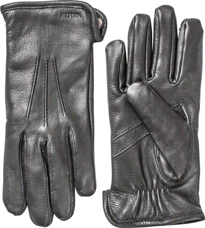 Andrew Gloves Deerskin Black Leather-1
