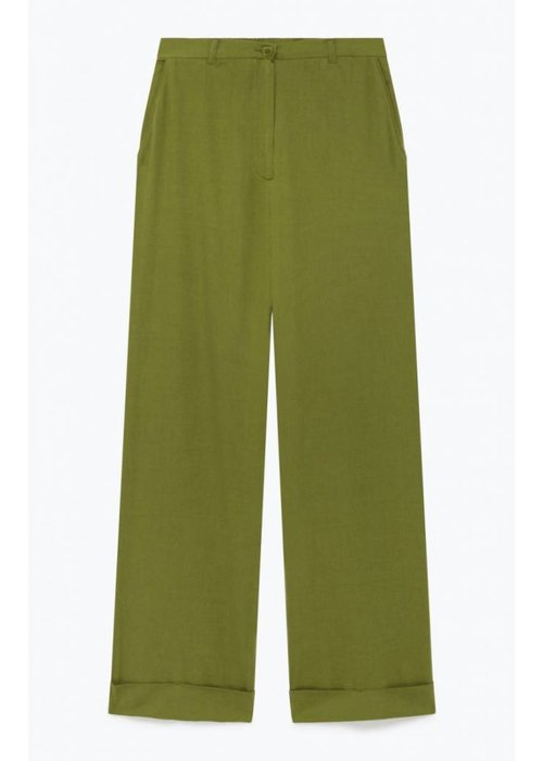 American Vintage Yayowood Wool Pants Green