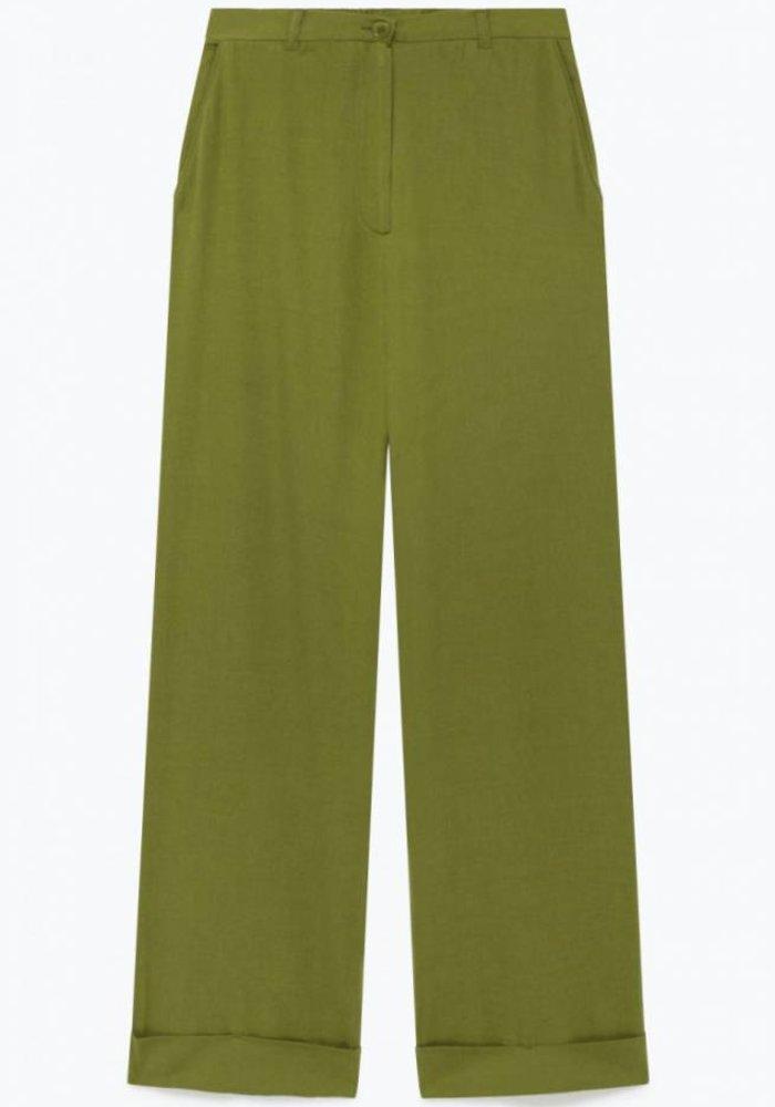 Yayowood Wool Pants Green