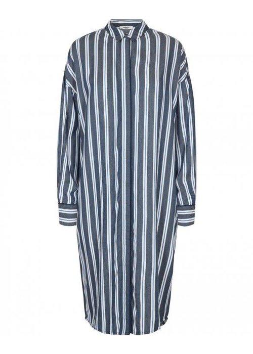 Moss Copenhagen Alana Stripped Shirt Dress