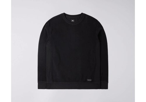 Edwin Jeans Nicki Classic Brushed Crew Sweat Black