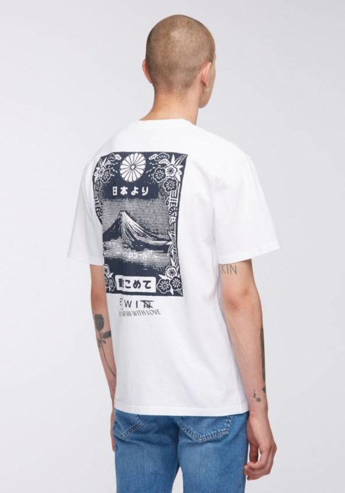 quality design 0aa25 a47ed Edwin Jeans Edwin's box fit tee, From MT Fuji
