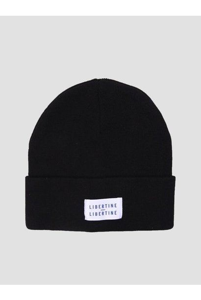 Story Beanie Solid Black