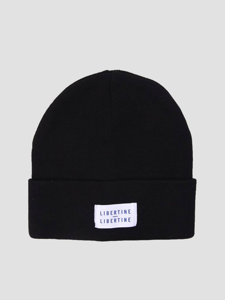 Story Beanie Solid Black-1