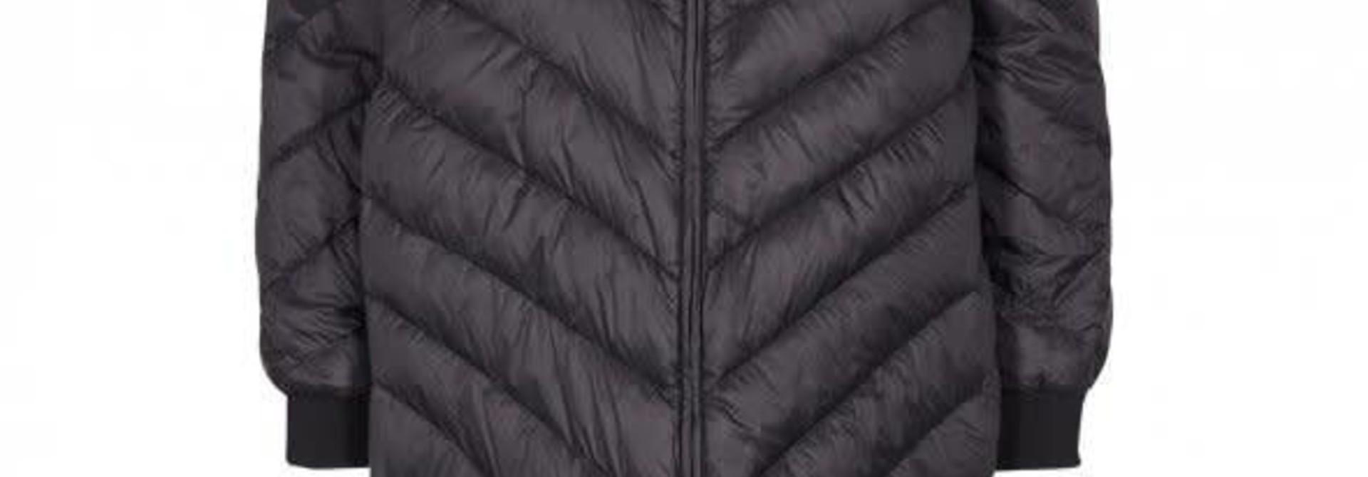 Nala Long Down Jacket Black