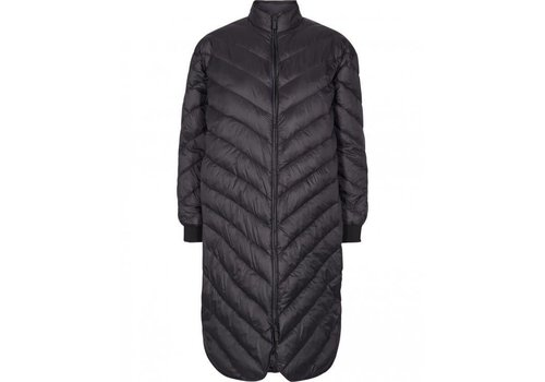 MOSS Copenhagen Nala Long Down Jacket Black