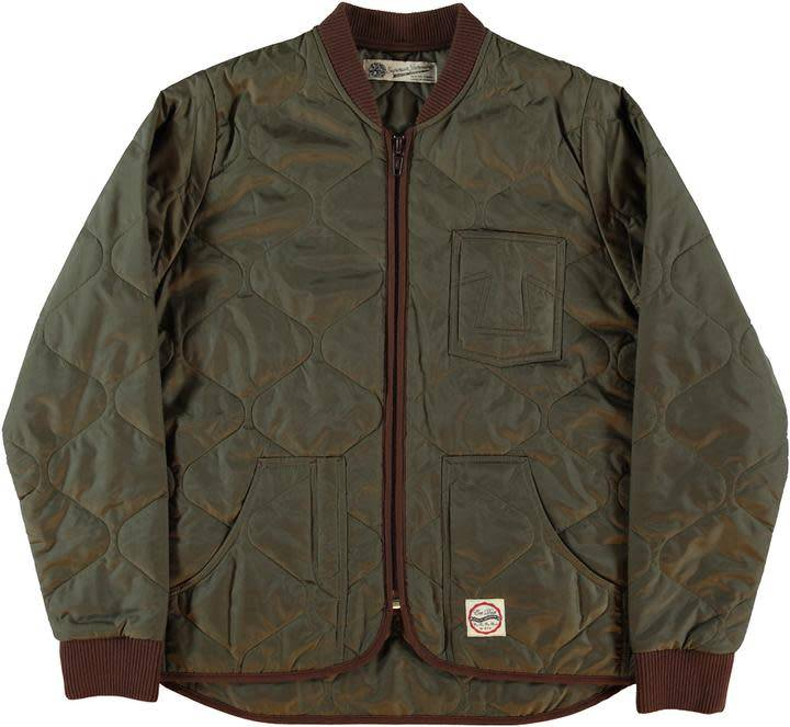 Frostbite Quilted Khaki Green-1