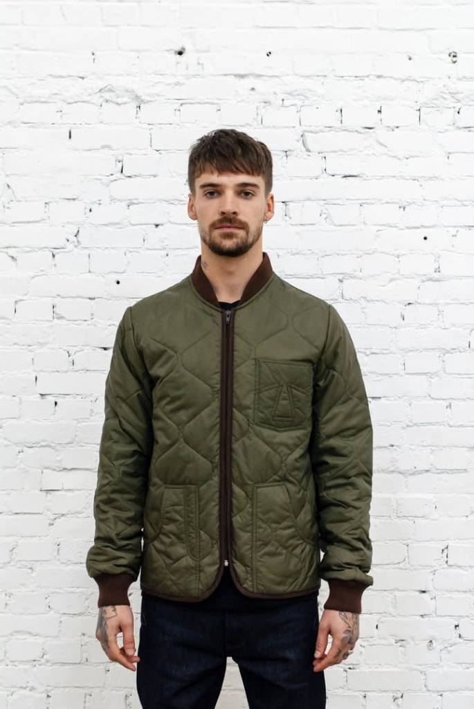 Frostbite Quilted Khaki Green-2
