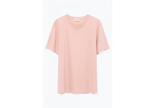 American Vintage Exiastreet Satin Pink T-Shirt