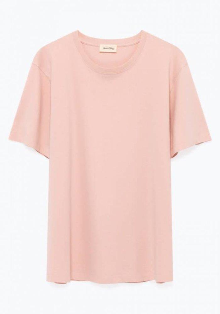Exiastreet Satin Pink T-Shirt