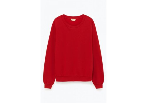 American Vintage Kinouba Sweat Vulcano Red
