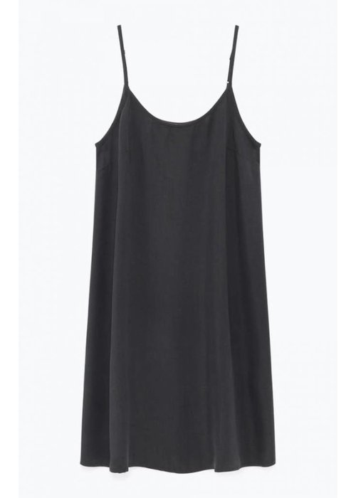 American Vintage Nalastate Carbon Black Dress