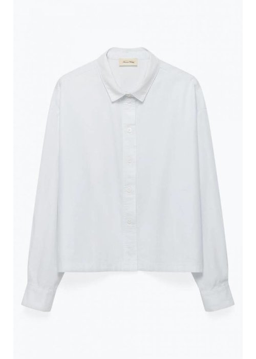 American Vintage Pizabay Cotton Shirt White