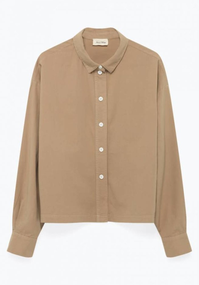 Pizabay Cotton Shirt Brown Sugar