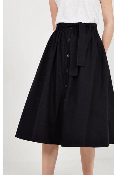 Tatayou Cotton Skirt Navy