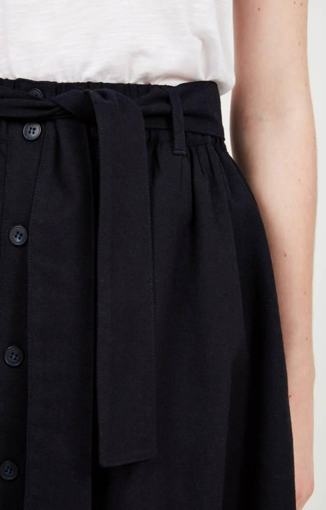 Tatayou Cotton Skirt Navy-3