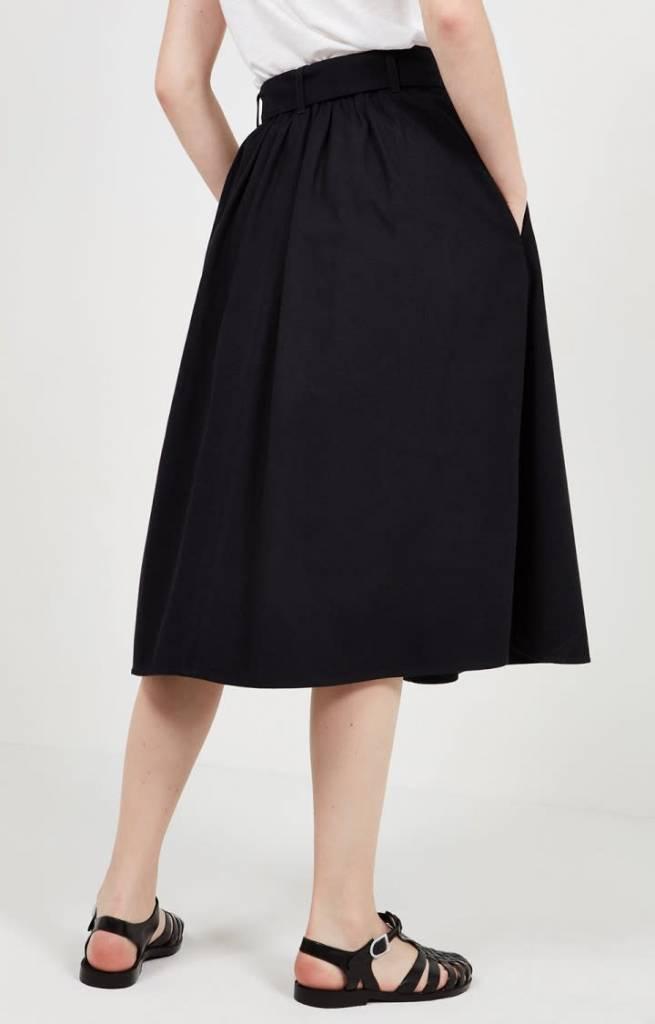 Tatayou Cotton Skirt Navy-5