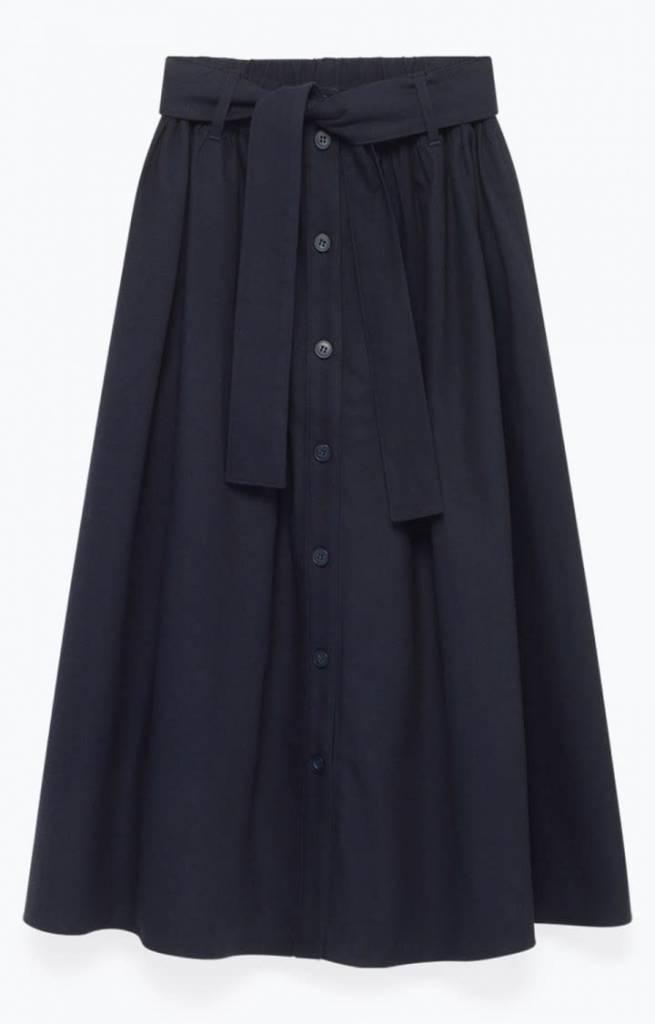 Tatayou Cotton Skirt Navy-10