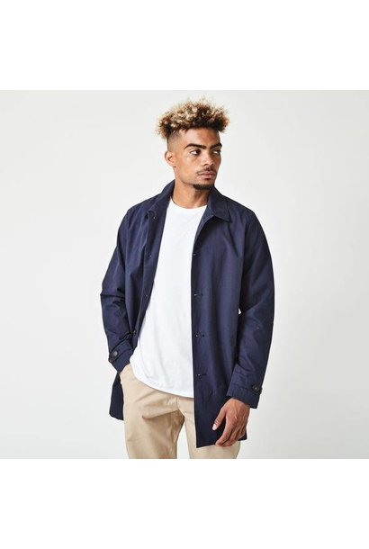Kingston Mac Coat Navy
