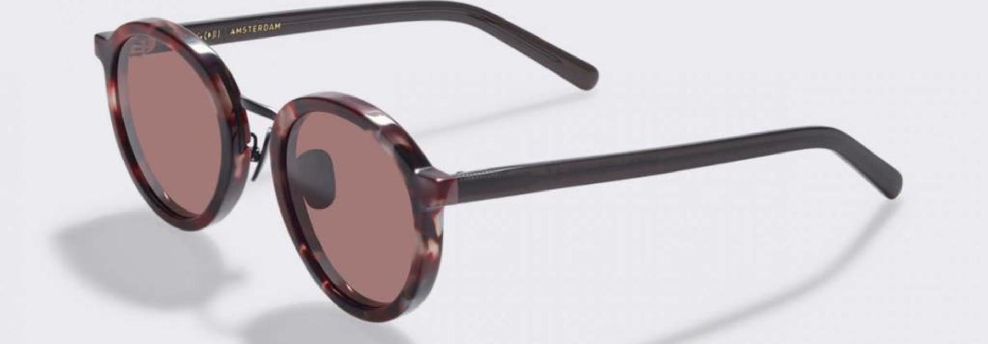 Loren Volcanic Flake Sunglasses
