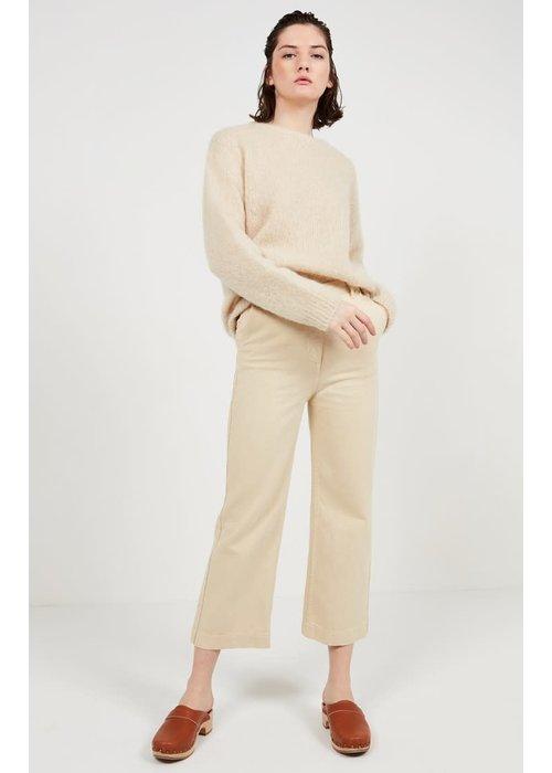 American Vintage Tomala High Waist Trouser Ecru