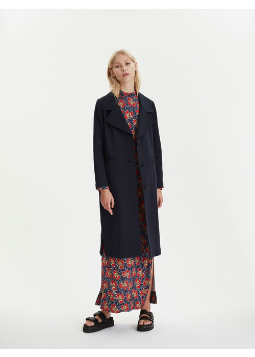 Libertine Libertine Area Classic Coat Navy