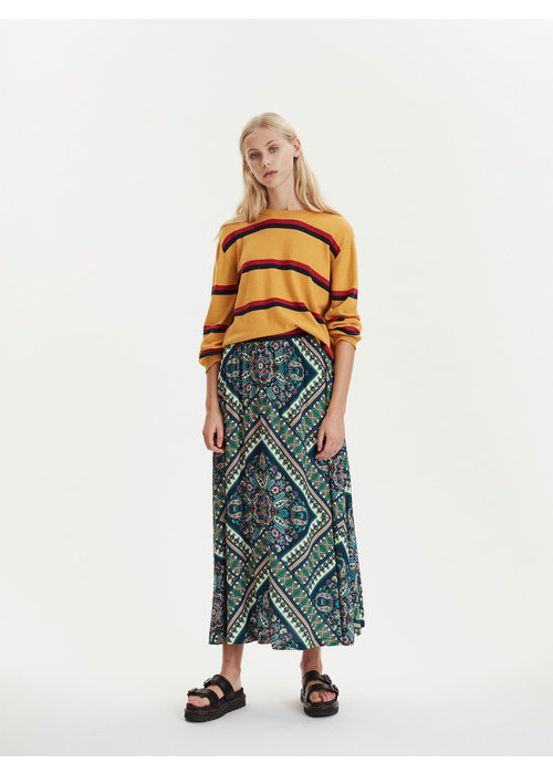 Libertine Libertine Call Yellow Knit Stripes