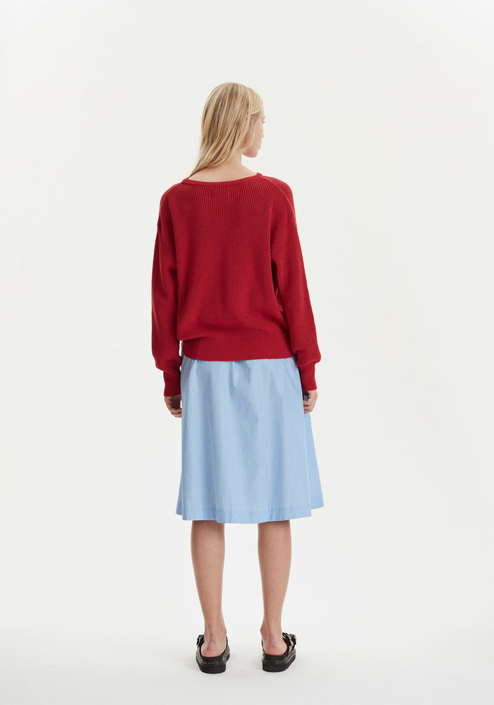 Memory Knitwear Chinese Red