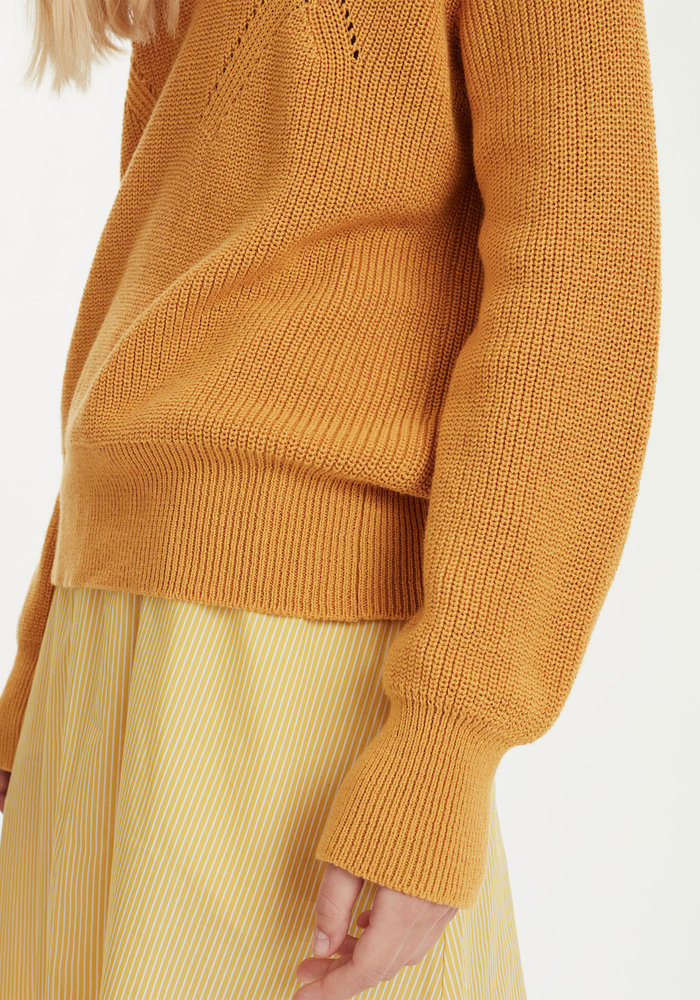 Memory Knitwear Rediant Yellow