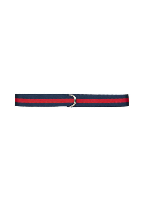 Libertine Libertine Regent Unisex Belt Blue Red