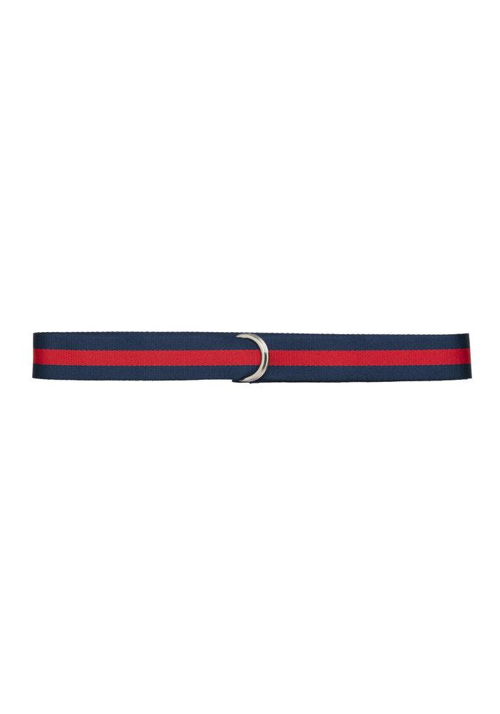 Regent Unisex Belt Blue Red