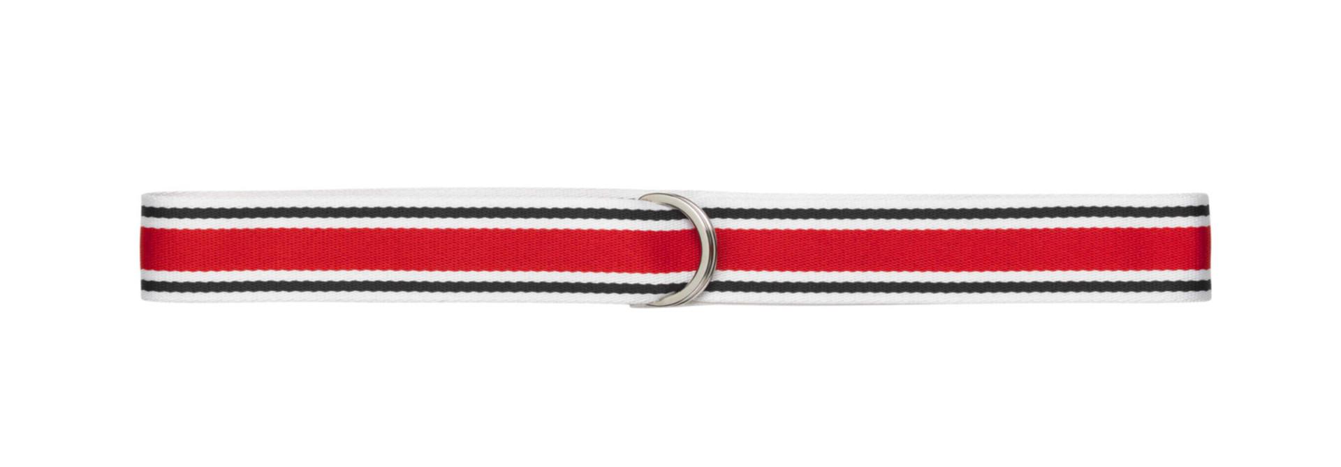 Regent Unisex Belt Red White Blue