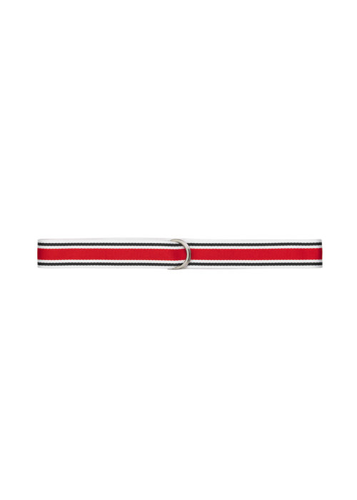 Libertine Libertine Regent Unisex Belt Red White Blue