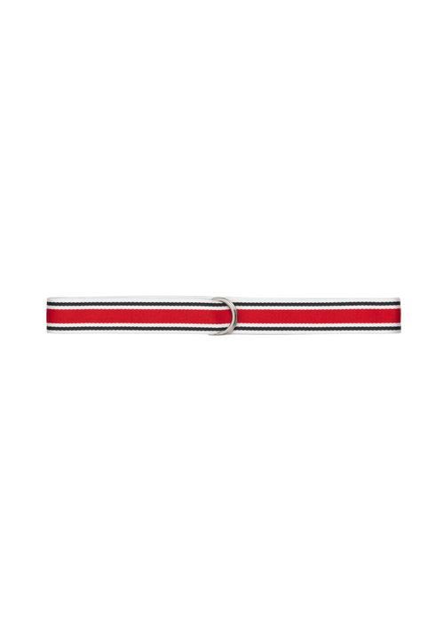 Libertine Libertine Regent Unisex Belt Red White Blue
