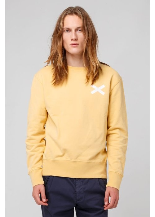 Edmmond Studios Cross Sweat Mustard Yellow