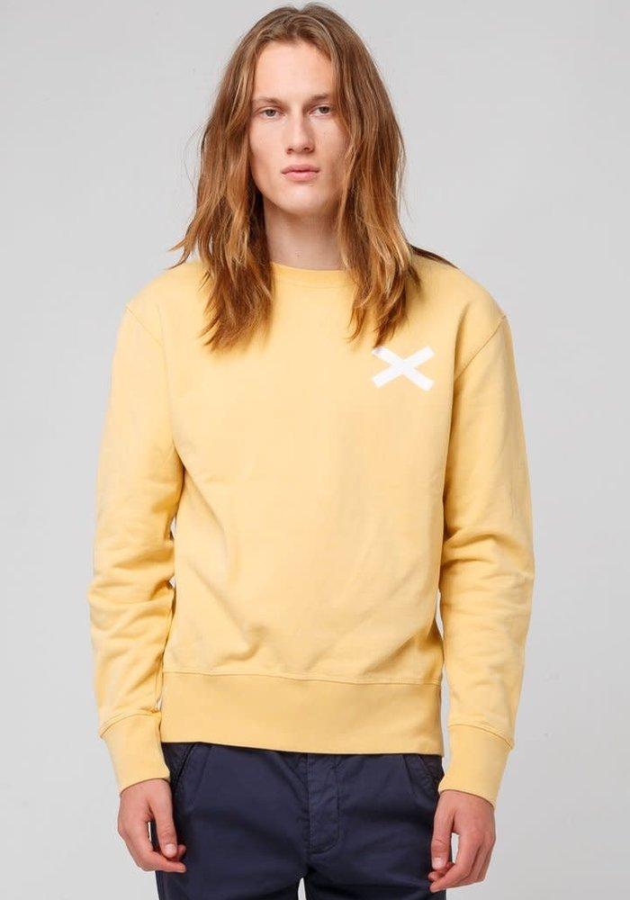 Cross Sweat Mustard Yellow