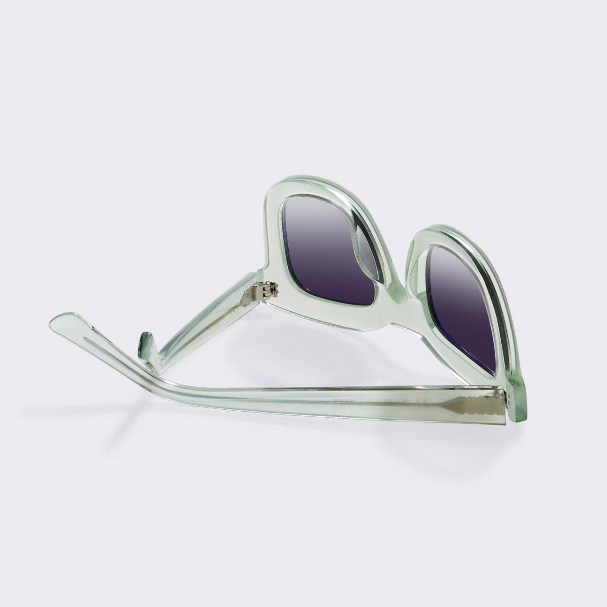 Bela Ice Green Sunglasses-3