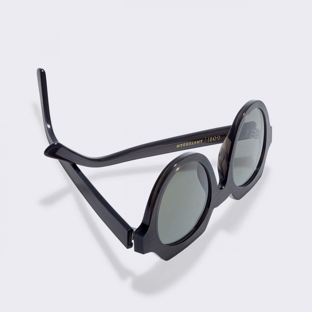 Ides Moss Black Sunglasses-3