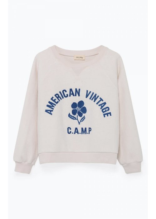 American Vintage Utocity Summer Sweater Wit