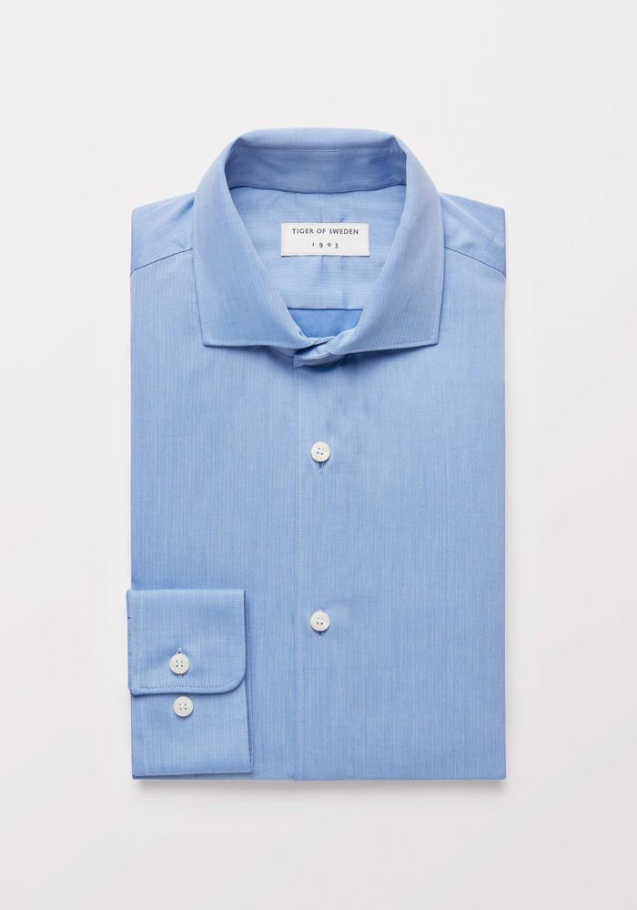 Farrell 5 Smart Dressed Shirt Pale Blue