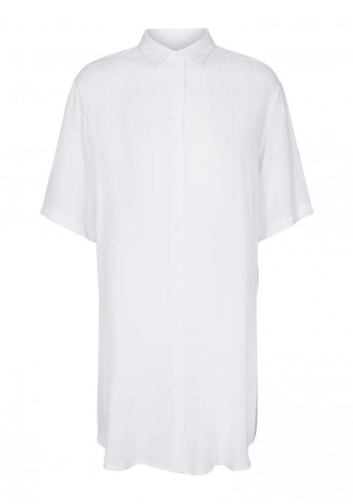 Simple Beach Shirt White