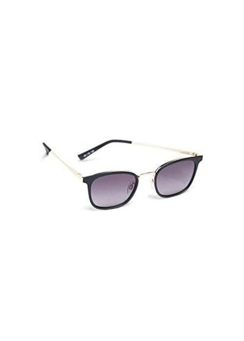 Le Specs Racketeer Matte Black Smoke Lens