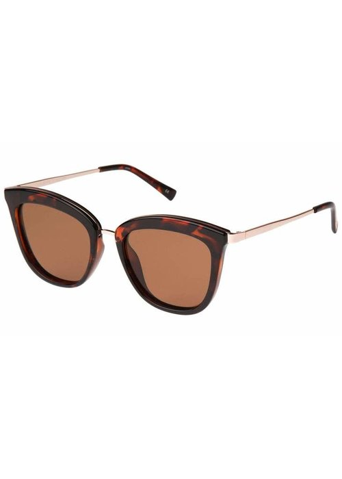 Le Specs Caliente Tort Rose Gold Polarized Lens