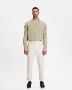 Century Trouser Ecru-1