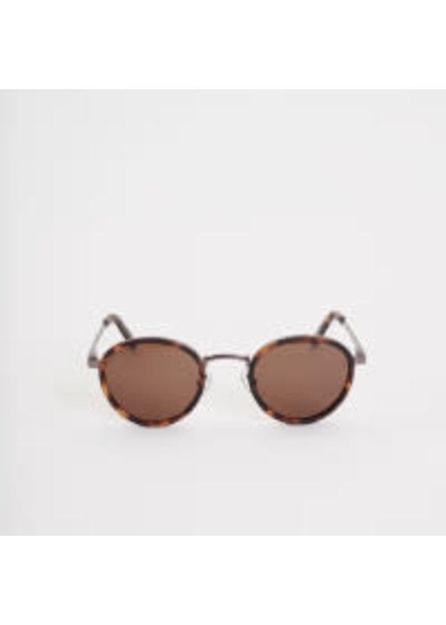 Legends Macau Dark Mat Tortoise Sunglasses