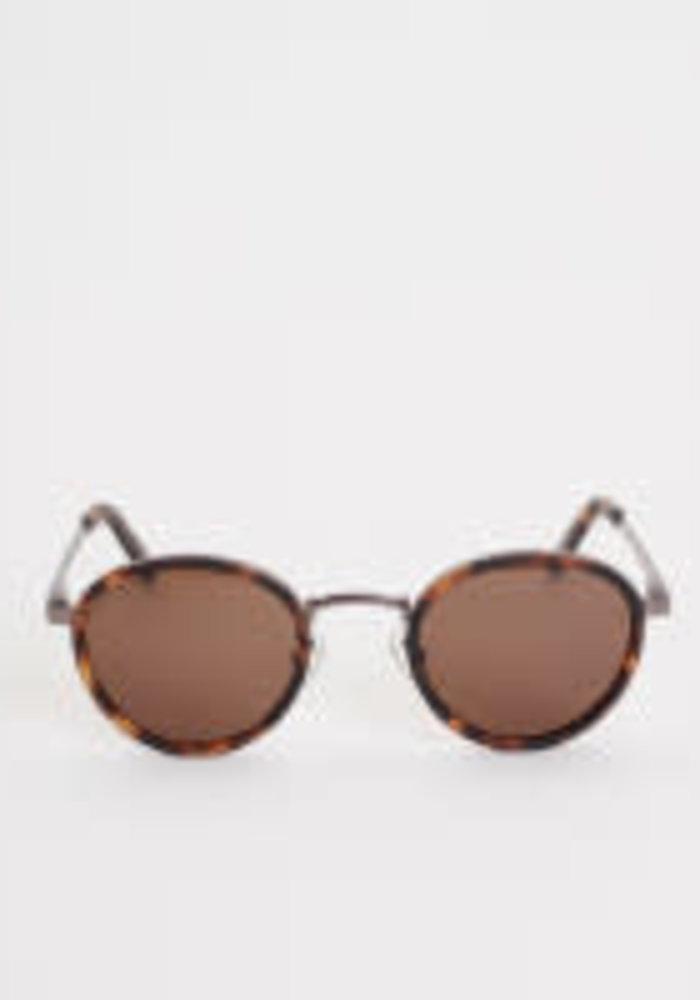 Macau Dark Mat Tortoise Sunglasses