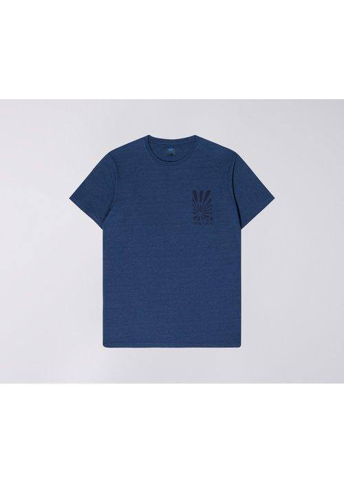 Edwin Jeans Chikara Blue Tshirt Indigo Line