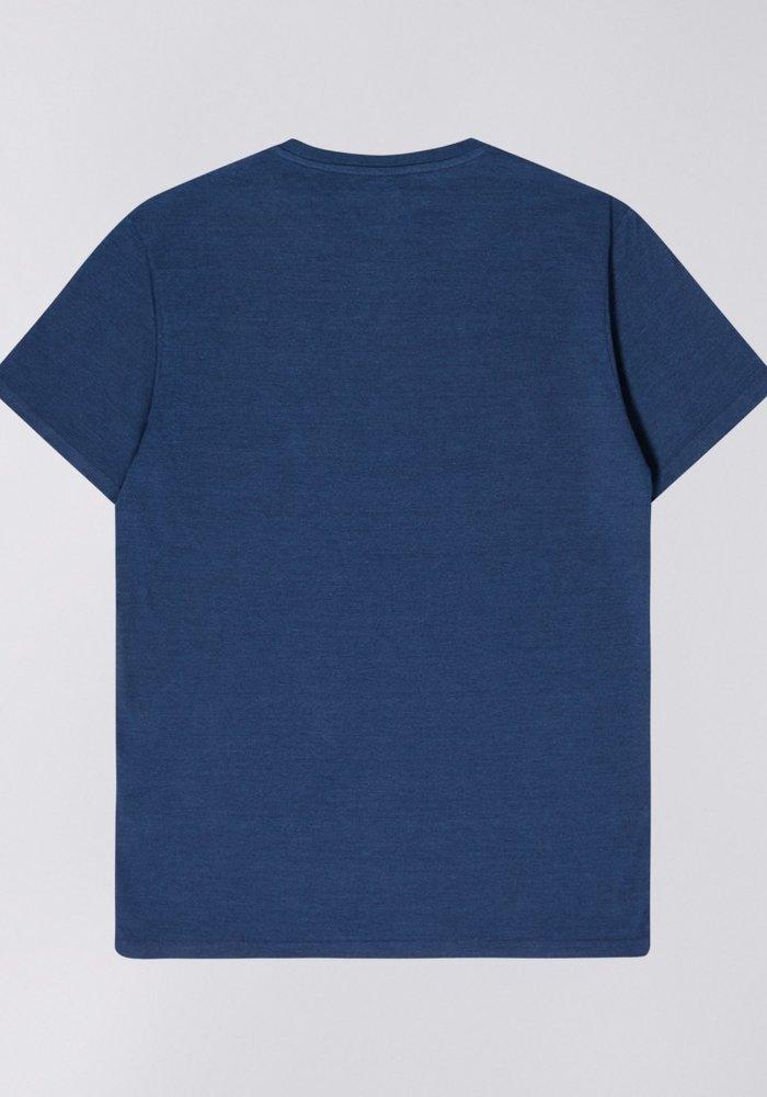Chikara Blue Tshirt Indigo Line