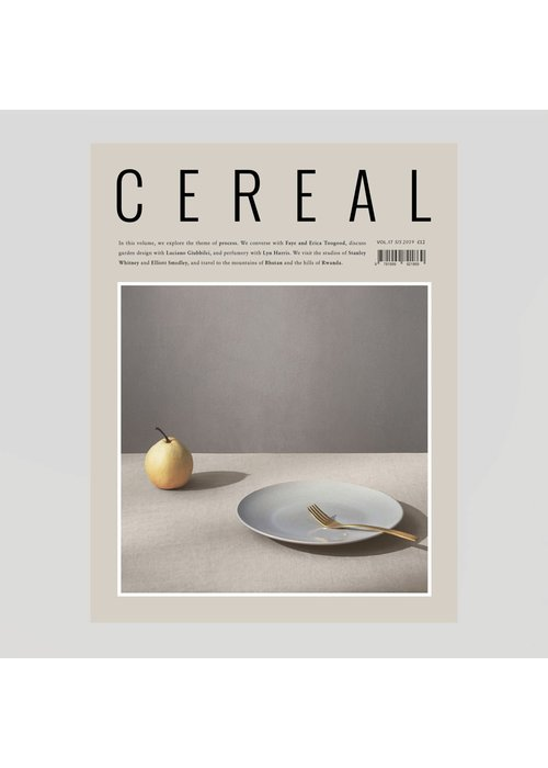 Cereal Magazine Travel & Style No. 17