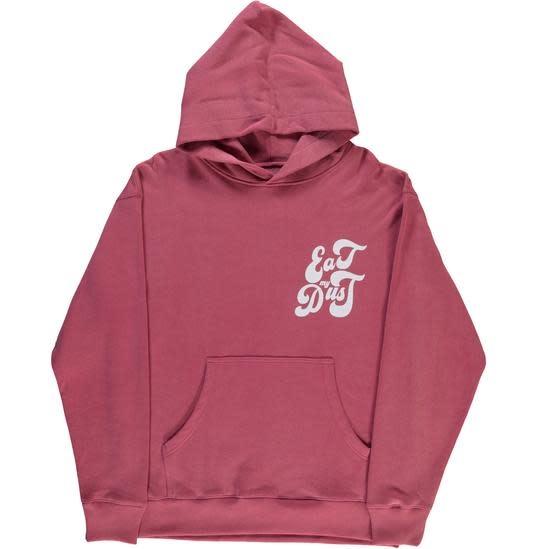 Sweater Eat My Dust Heavy Fleece Red-1